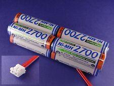 Senderakku Panasonic 2700 Würfel für Spektrum DX 6-7 ( Früher Sanyo )
