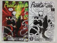 2x SPAWN Variant Covers ~ RENATO JONES Season 2 Freelancer # 1 Comic NM/UNREAD