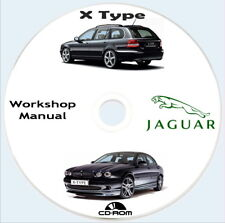 Jaguar X-Type,workshop Manual 2001/2008,manuale officina completo.