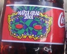 2001 Mardi Gras Coca-Cola Coke Bottle