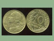 FRANCE  FRANCIA  10 centimes 1985 marianne  ( bis )