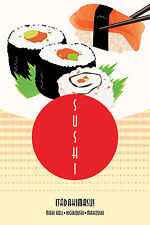 "Sushi Poster 24"" x 36"""