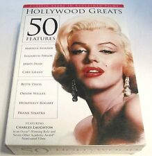 Hollywood Greats: 50 Movies Including The Lucy Show (DVD, 2015, 3-Disc Set) Rare