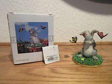 "Charming Tails ""Catchin' Butterflies"" Figurine"