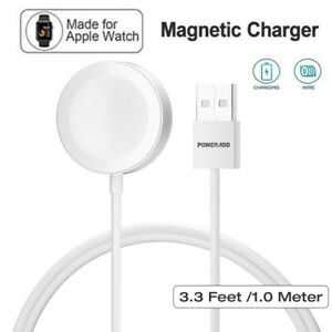 For Apple Watch iWatch Magnetic Charging Cable Charger 38-44mm Series 4/3/ 2/1