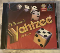 Ultimate Yahtzee CD-ROM Jewel Case PC Game Brand New Sealed