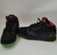 Jordan 1 Flight 2 - Black Pink Green Premium Shoes Sneakers - 6.5Y youth