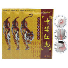 8Pcs/Bag RED Tiger Balm Back Arthritis Pain Patch Chinese Plaster Pain Relif