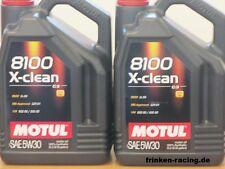8,46€/l Motul 8100 X-clean 5W-30 C3   2 x 5 Ltr  BMW LL-04 MB 229.51