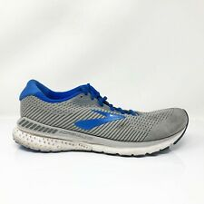 Brooks Mens Adrenaline GTS 20 1103072E051 Gray Blue Running Shoes Size 11 2E