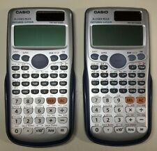 Casio Fx-115Es Plus Scientific Calculator Natural Textbook Display Case Working