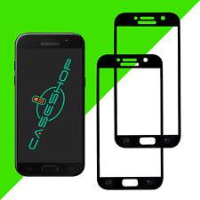 2x Panzerglas Samsung Galaxy A5 2017 Fullcover Panzerfolie Glasfolie Schutzglas