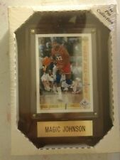 Magic Johnson West All-star 91-92 Upper Deck Sealed Framed Plaque Pro Collection