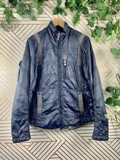 G-Star Raw Puffer Bombed Trim Fit Quilted Jacket Blue size M