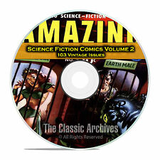 Science Fiction Comics, Vol 2, Strange Worlds, Amazing Golden Age Comics DVD C87