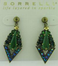 Sorrelli Wild Fern Earrings  EDB21AGWFN antique gold tone