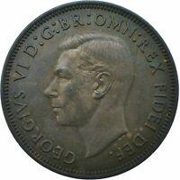 1952 HALF PENNY GB UK KING GEORGE VI SUPERB HIGH GRADE    #WT21590