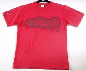 Boys Girls Naf Naf Cotton Red Logo Short Sleeve T-Shirt Top Age 11-12