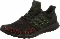 ADIDAS MEN ULTRABOOST CLIMA RUNNING SHOES BLACK / BLACK / SOLAR RED