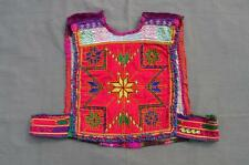 Kuchi afghano TRIBAL Choli VINTAGE BELLY DANCE handmade stitchable Crop Top kc326