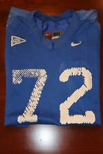 KENTUCKY WILDCATS TEAM/GAME/PRACTICE  ISSUED NIKE SEC FOOTBALL JERSEY #72