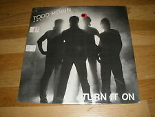 TODD HOBIN and the HEAT turn it on LP Record - Sealed