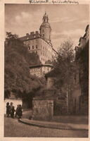 AK Ansichtskarte Rudolstadt / Schloß Heidecksburg - 1910er