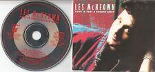 Les McKeown   CD-SINGLE  LOVE IS JUST A BREATH AWAY  ©  1988  DIETER BOHLEN