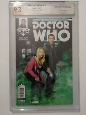 Doctor Who: The Ninth 9th Doctor Ongoing #1 PGX NM 9.2 Signed by Billie Piper