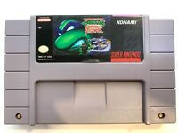 Teenage Mutant Ninja Turtles Tournament Fighters SUPER NINTENDO SNES Game
