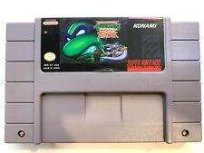 Teenage Mutant Ninja Turtles Tournament Fighters SUPER NINTENDO SNES Game