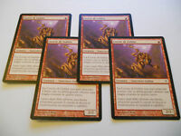 4x MTG Coorte di Goblin-Cohort Magic EDH BOK kamigawa ITA-ING Modern x4