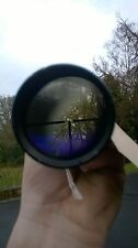 schmidt and bender 6x42 vintage telescopic sight rifle sight sniper scope