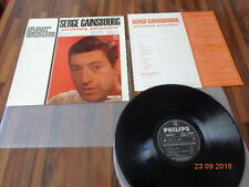 "SERGE GAINSBOURG ""PERCUSIONS"" LP JAPAN - INSERT - POCHETTE ORIGINAL"