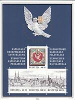 Schweiz 1995, Block BL27 Briefmarkenausstellung Basler Taube **