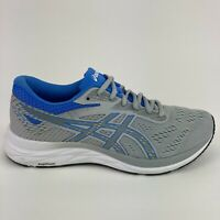 Asics Gel Excite 6 Women's Size 9.5 Gray Blue Running Walking Low Athletic Shoes