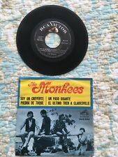 THE MONKEES EP MEXICO 45 RPM I'M a Believer +3 Vintage