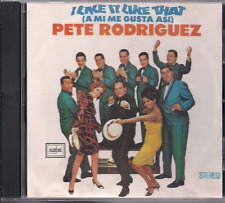 FANIA Salsa CD RARE First Pressing PETE RODRIGUEZ I like it like that MICAELA