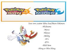 Pokemon Sun and Moon Ultra Space Lugia Ho-oh Ultra Worm Hole 2 Pack