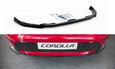 CUP Diffusor Ansatz SCHWARZ für Toyota Corolla 7 HB Heckstoßstangen Splitter ABS