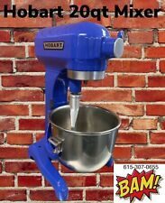 Blue Hobart 20 Quart Mixer With Whip And Ss Bowl- 120v - Other Colors Available