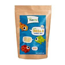 Club Vits Kids - Omega 3 Fish Oil 500mg - 365 capsules