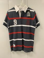 Go Sport Rugby Polo Striped Shirt Size S NWT