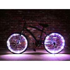 Wheel Brightz White Bright LED Light 2 Pc. Bicycle Tire Safety Bike Night Lights