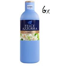 6x Felce Azzurra Narciso Badeschaum Schaumbad Dusche Schaum bath foam 650ml