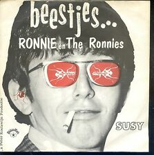 7inch RONNIE EN THE RONNIES beestjes HOLLAND EX +PS  DISCOSTAR