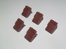 Lego ® Accessoire Minifig Lot x5 Sac à Dos Pirate Backpack Red Brown 2524 NEW
