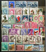 Lot Belgien 1964 ab MiNr. 1344 - 1440 ** überwiegend komplette Sätze postfrisch