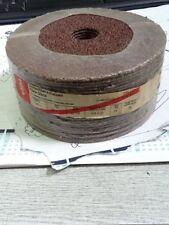 (10) x  ALI OXIDE SANDING PADS DISCS 125 X 22 X 24G COARSE (TOOLSHACK)