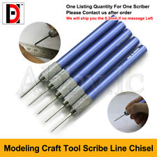 Modeling Tools  Accessory Scriber Craft Tool Scribe Line Chisel 0.2- 1 mm